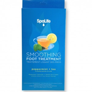 smoothing foot treatment box